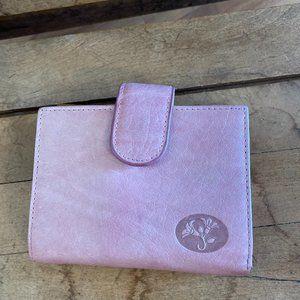 Burton Pink Leather Wallet